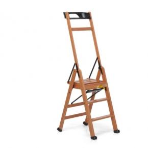 . laScala3 Foppapedretti лестница складная стремянка Noce