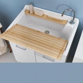 Итальянские постирочные раковины Мебель и оборудование для постирочной комнаты. Colavene раковина большая глубокая хозяйственная 80х60 см для постирочной