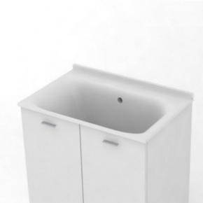 . KERASAN Comunita раковина глубокая 60х50 см керамическая без отверстия под смеситель