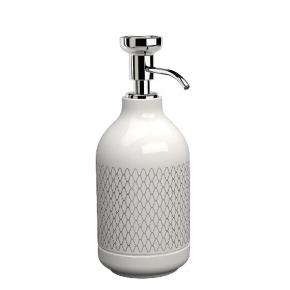 . EQUILIBRIUM POMDOR Netting фарфоровые аксессуары для ванной дозатор хром