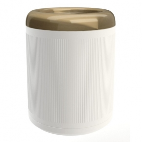 . EQUILIBRIUM POMDOR ведро для мусора фарфоровое бронза