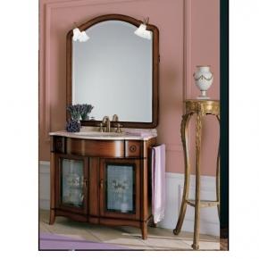 Мебель для ванной комнаты. Мебель для ванной умывальник с зеркалом Eurodesign Liberty 4