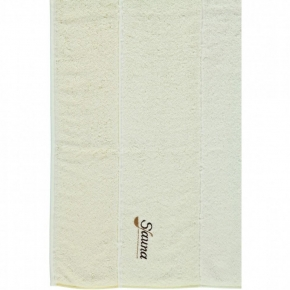 ".         Полотенце CAWO ""Sauna"" 257 Ванильно-белый"