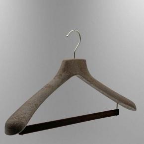 Вешалки для одежды. NATURALE вешалки с держателем для брюк большие