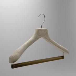 Вешалки для одежды. NATURALE вешалки с держателем для брюк