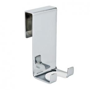 Скребки для стекла душевых кабин и зеркал. Крючок для стекла душевой кабины Хром