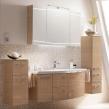 Мебель для ванной комнаты. Pelipal Cassca Комплект подвесной мебели 1210 мм, декор: мед