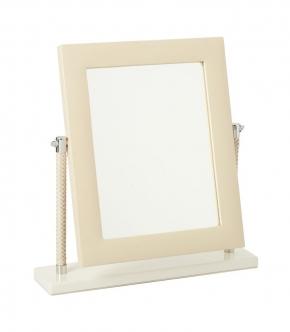 Зеркала косметические с подсветкой увеличением настенные настольные Зеркала с присосками. Vanity ivory by Riviere зеркало настольное кожаное