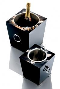 Посуда Столовые приборы Декор стола Deluxe. Вёдра для шампанского и льда Horn & lacquer by Arcahorn Livorno Champagne cooler & ice bucket