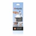 Мусорные баки и вёдра для кухни. Пакеты для мусора Brabantia (в рулонах) 5л 20шт. (размер B)