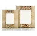 Рамки для фотографий Deluxe. Рамки для фотографий Horn & lacquer Ivory by Arca Mosaic
