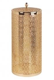 Корзины для белья. Корзина для белья 22 литра ML.COM-50.133 золото