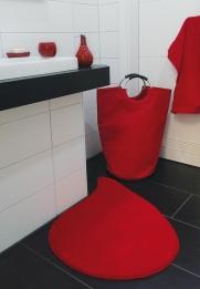 Корзины для белья. Корзина для белья текстильная сумка с ручками Rot
