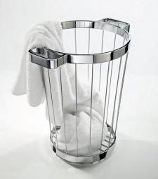 Вёдра с педалью Дровницы Вёдра. Decor Walther Корзина для белья металлическая с ручками Towel Basket