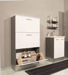 Итальянские постирочные раковины Мебель и оборудование для постирочной комнаты. Шкаф для обуви SCARPIERE Con