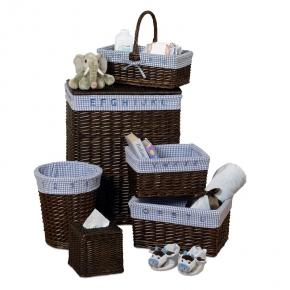 . Корзины плетёные набор 6 предметов Baby's Learn & Store Collection Сreative Bath