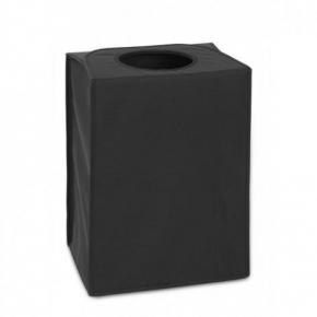 Корзины для белья. Сумка для белья прямоугольная Black черный