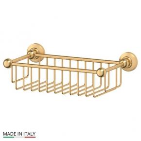 Полки для душа Сетки Полки для ванной стеклянные Полки для полотенец. Полочка сетка матовое золото 31 cm 3SC STILMAR STI 307
