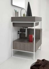 Итальянские постирочные раковины Мебель и оборудование для постирочной комнаты.  Мебель раковина 70 см Colavene LAUNDRY & BATH TRIX WASH BASIN LUCCA COLOR