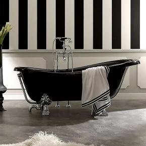 . Ванна Kerasan Retro 1052 (чёрная)