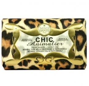 Luxury Гель для душа Мыло. Мыло NESTI DANTE CHIC ANIMALIER Bronze myrrh Бронза 250 гр