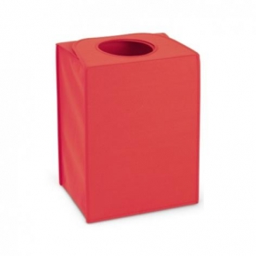 Корзины для белья. Сумка для белья прямоугольная Warm red красный