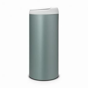 Мусорные баки и вёдра для кухни. Мусорный бак для кухни FlipBin 30 литров Мятный