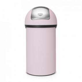 Мусорные баки и вёдра для кухни. Мусорный бак с нажимной крышкой 60 литров Mineral Pink розовый