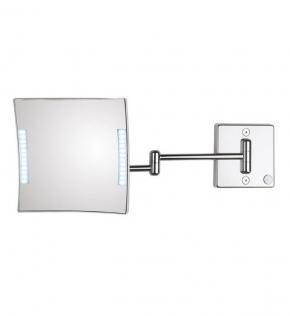 . Зеркало настенное без провода с 3-х кратным увеличением QUADROLO LED 60/2KK3