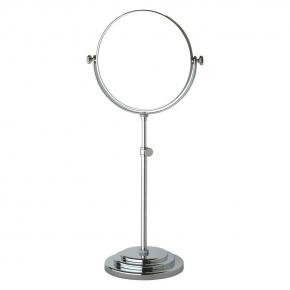 Зеркала косметические с подсветкой увеличением настенные настольные Зеркала с присосками. Косметическое зеркало двухстороннее настольное 1х3 VALSAN Valsan VAL 015