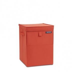 Корзины для белья. Сумка для белья модульная 109362 корзина для белья текстильная Красная