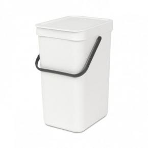 Мусорные баки и вёдра для кухни. Ведро для мусора SORT&GO 12л