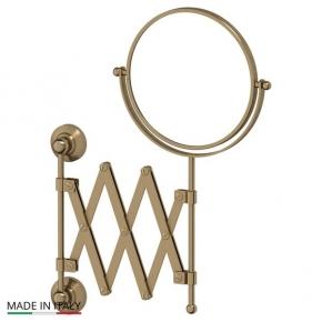 Зеркала косметические с подсветкой увеличением настенные настольные Зеркала с присосками. Косметическое зеркало двухстороннее бронзовое 1x2 3SC STILMAR STI 520
