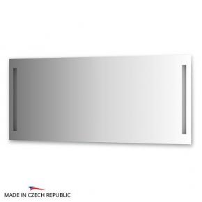 Зеркала для ванной. Зеркало с 2-мя встроенными LED-светильниками 12 W 160х70 cm ELLUX Linea LED LIN-A2 9131