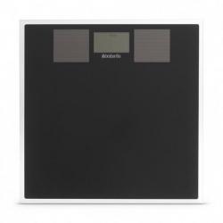 . Весы для ванной комнаты Brabantia на солнечных батареях Black чёрный