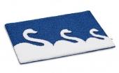 . Swan коврик для ванной декор Лебедь силуэт