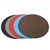 Аксессуары и Мебель для дома. Круглая кожаная подставка для тарелок Athena round place mats by GioBagnara