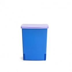 Мусорные баки и вёдра для кухни. Ведро для мусора Brabantia встраиваемое квадратное 10 литров Blu Lavanda лаванда