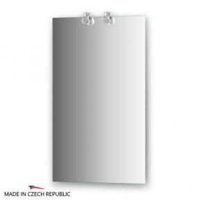 Зеркала для ванной. Зеркало с 2-мя светильниками 40 W 45х75 cm ELLUX Crystal CRY-B2 0204