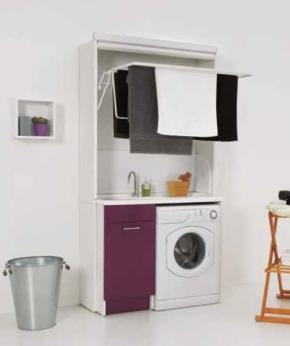 Итальянские постирочные раковины Мебель и оборудование для постирочной комнаты. Мебель Colavene сушилка складная с постирочной раковиной Melanzana