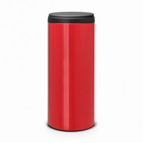 Мусорные баки и вёдра для кухни. Мусорный бак для кухни FlipBin 30 литров Красный