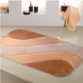 Коврики для ванной комнаты. SAMOS коврик для ванной с декором