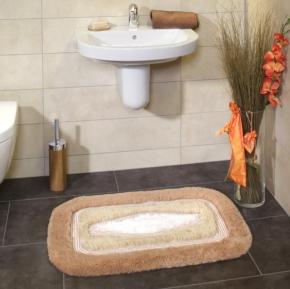 Коврики для ванной комнаты. COMFORT коврик для ванной комнаты Nicol с декором