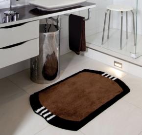 Коврики для ванной комнаты. MONZA коврик для ванной комнаты Nicol с декором