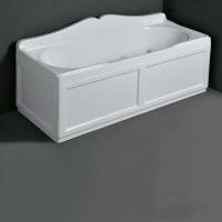 Ванны. Simas Vasche da bagno VAT17 Ванна прямоугольная 170x70 см с панелью, цвет белый