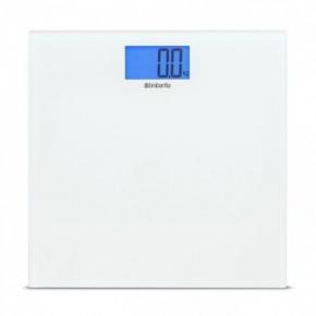 . Весы для ванной комнаты White белый
