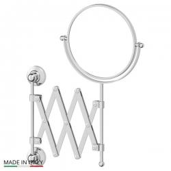 Зеркала косметические с подсветкой увеличением настенные настольные Зеркала с присосками. Косметическое зеркало двухстороннее 1x2 3SC STILMAR STI 020