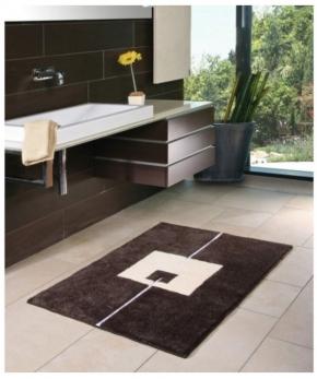 Коврики для ванной комнаты. STRUCTURA V Коврик для ванной комнаты Nicol с декором