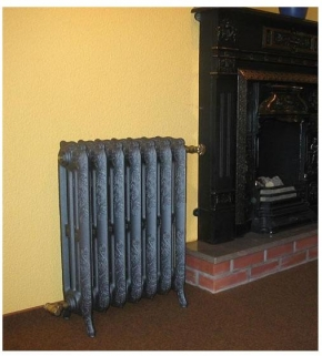 Радиаторы чугунные, стальные, стеклянные, биметаллические. Chappee чугунный радиатор Floreal, 7 секций