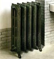 Радиаторы чугунные, стальные, стеклянные, биметаллические. DemirDokum чугунный радиатор RETRO 600 LUX